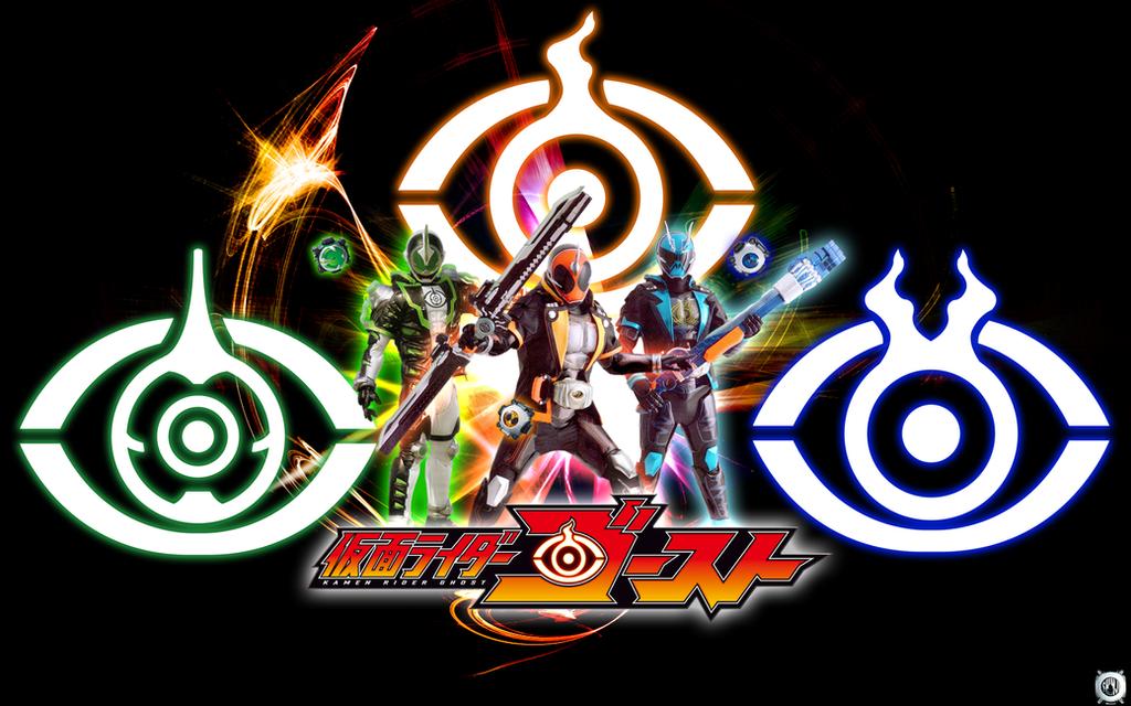 Kamen Rider Necrom: Kamen Rider Ghost X Specter X Necrom Wallpaper By Malecoc
