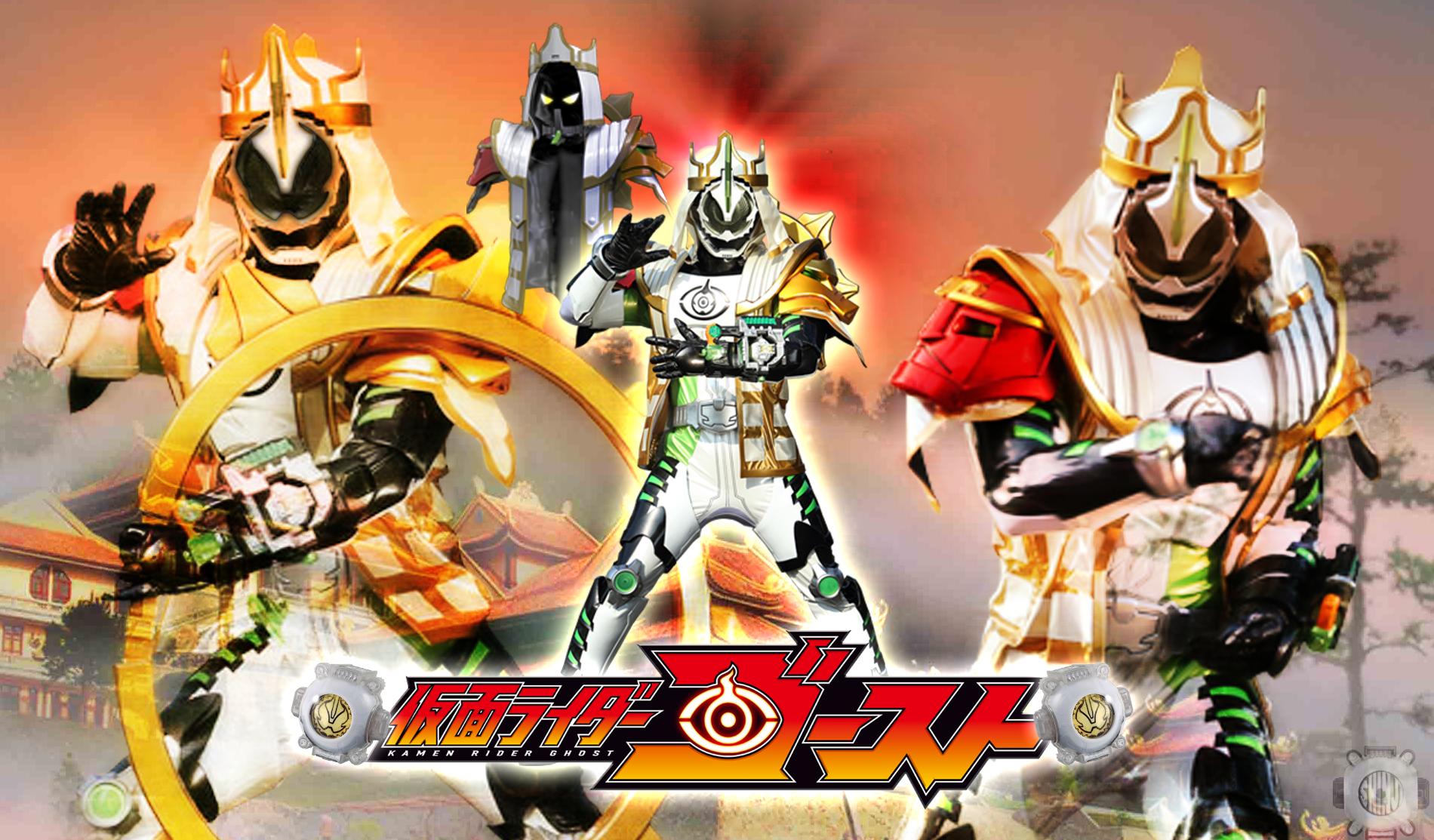 Kamen Rider Necrom: Kamen Rider Necrom Sanzo Damashii Wallpaper By Malecoc On