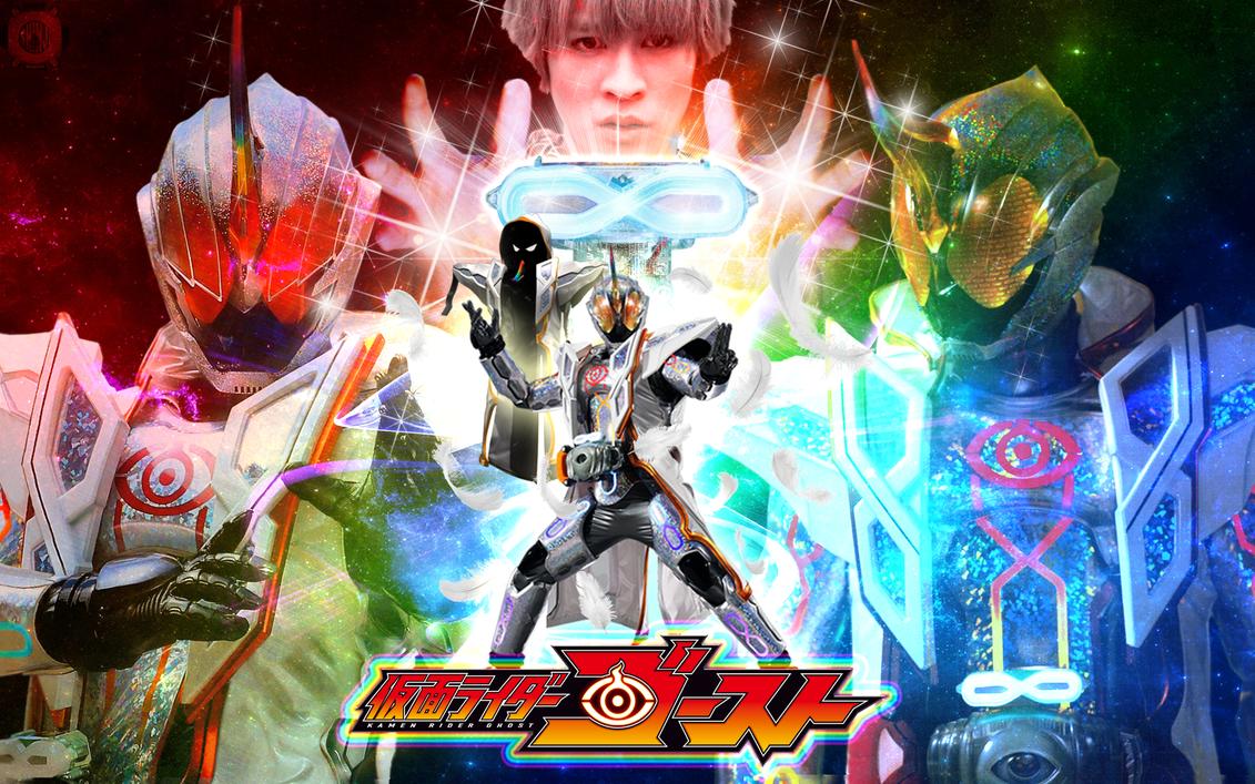 Kamen Rider Ghost Mugen Damashii Wallpaper by malecoc