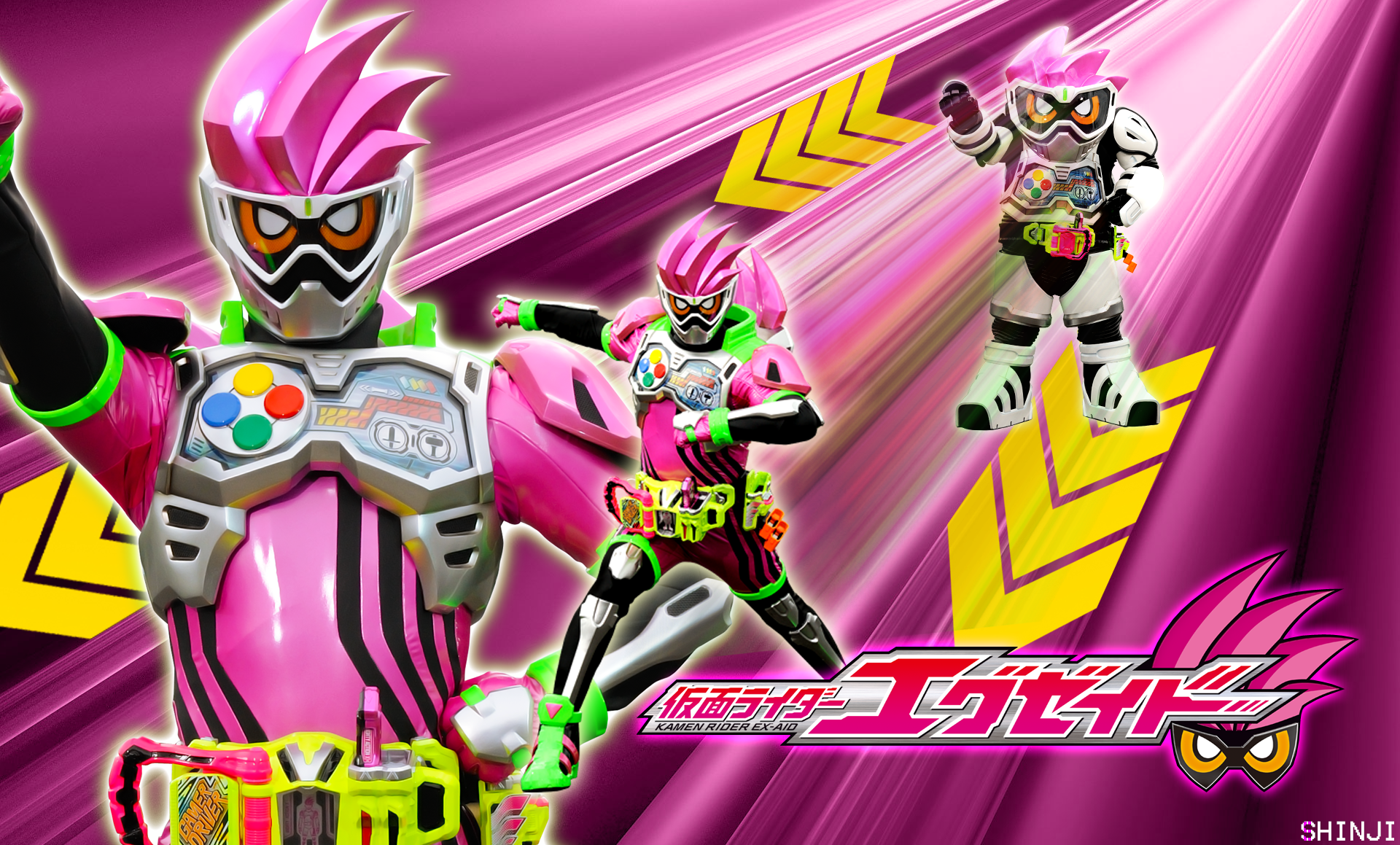 Kamen Rider Ex-Aid Action Gamer Wallpaper by malecoc on ...