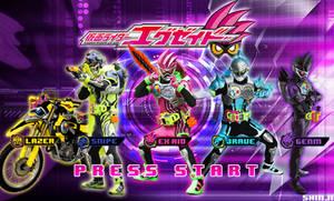 Kamen Rider Ex-Aid - Brave - Snipe - Lazer - Genm