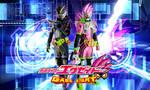 Kamen Rider Ex-Ad VS Genm Action Gamer Wallpaper