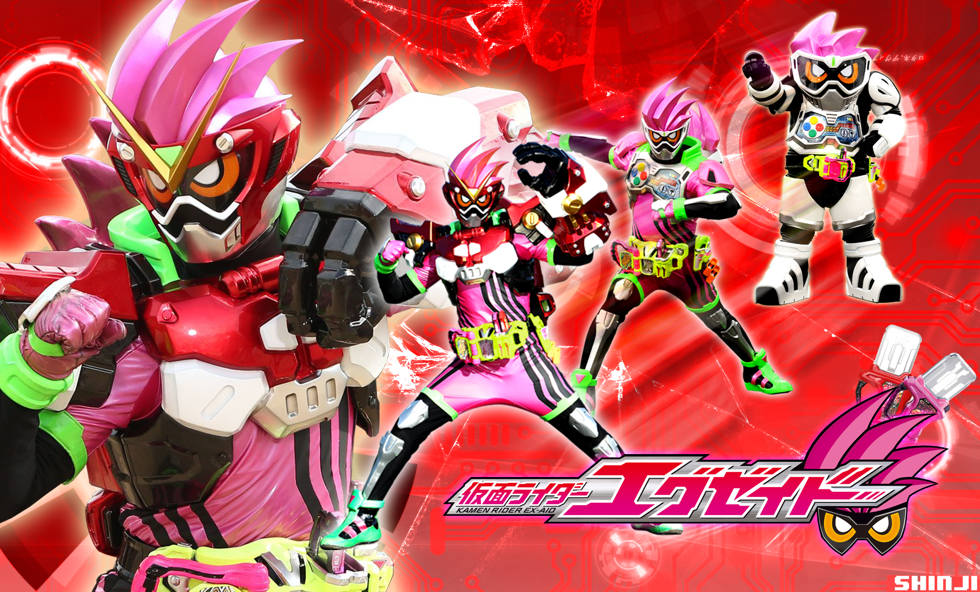 Kamen Rider Ex Aid Robot Action Gamer Wallpaper By Malecoc On
