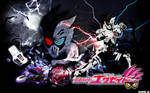 Kamen Rider Genm Zombie Gamer Level X Wallpaper