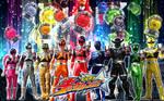 Uchu Sentai Kyuranger Wallpaper ( 2017 )