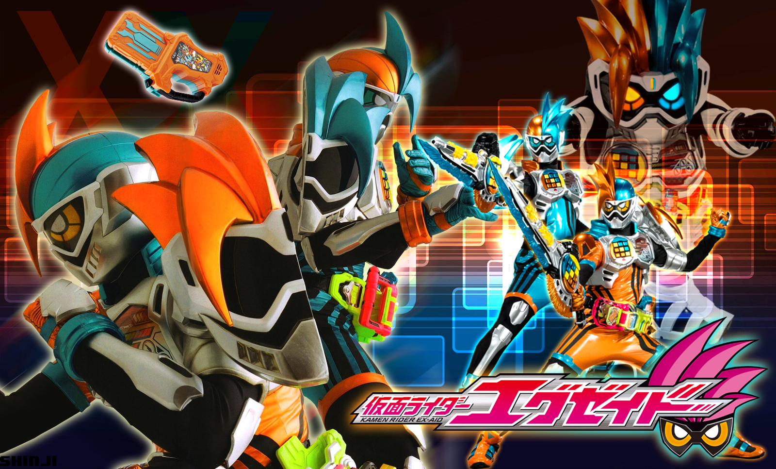 Kamen Rider Ex-Aid Double Action Gamer Level XX by malecoc ...