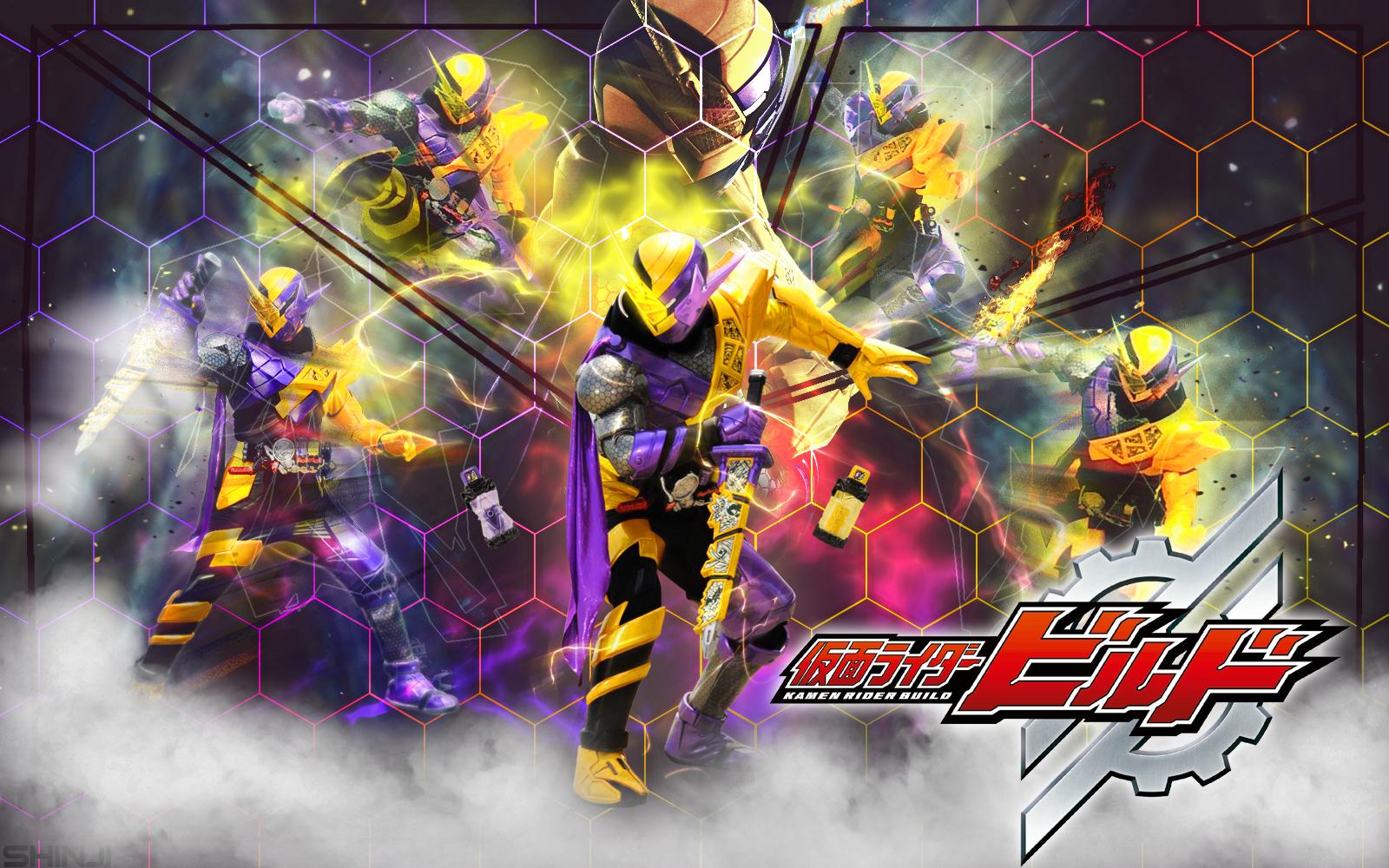 Kamen Rider Build Ninnincomic Form Wallpaper By Malecoc On Deviantart