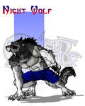 Night Wolf Character Designs - Night Wolf