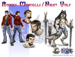 Night Wolf Character Design - Night Wolf