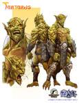 Night Wolf Character Design - Tartarus the Demon by RAM-Horn