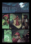 Night Wolf Comic Book Issue #1 Page 6 Colors
