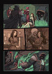 Night Wolf Comic Book Issue #1 Page 11 Colors