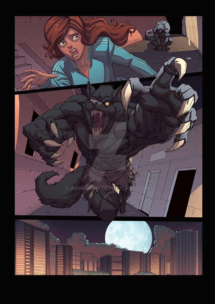 Night Wolf Comic Book Issue 1 Page 24 Colors By Ram-Horn On Deviantart-7342