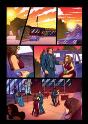 Night Wolf Comic Book Issue #2 Page 5 Colors by RAM-Horn