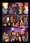 Night Wolf Comic Book Issue #2 Page 6 Colors