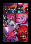 Night Wolf Comic Book Issue #2 Page 8 Colors