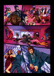 Night Wolf Comic Book Issue #2 Page 9 Colors
