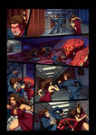 Night Wolf Comic Book Issue #2 Page 10 Colors