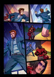 Night Wolf Comic Book Issue #2 Page 13 Colors