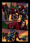 Night Wolf Comic Book Issue #2 Page 17 Colors