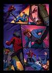 Night Wolf Comic Book Issue #2 Page 18 Colors by RAM-Horn