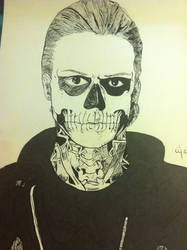 Tate Langdon Pen and Ink