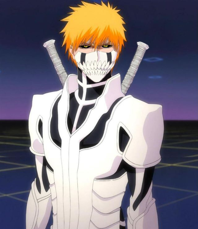 Ichigo Hollow Form by ryuuzakiscorpio on DeviantArt