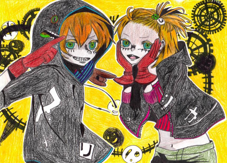 Matryoshka Rin Len by VocaloidFan12345