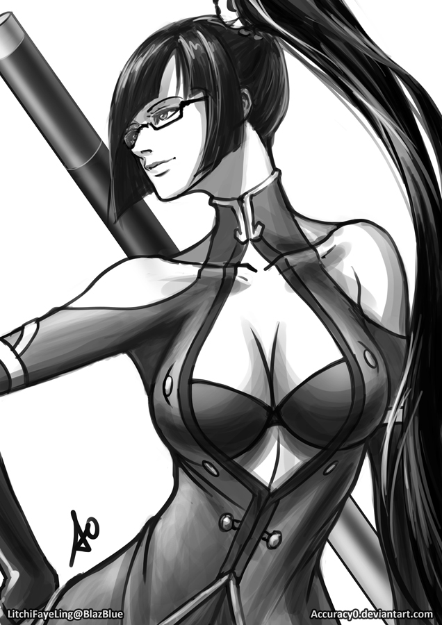 Litchi Faye Ling Fight Stance by borjen-art