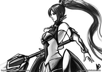 Izayoi by borjen-art