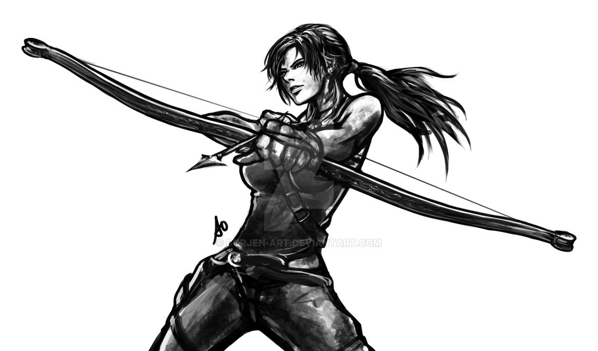 Tomb Raider Reborn Contest by borjen-art