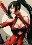 Litchi Faye Ling Fight Stance Color