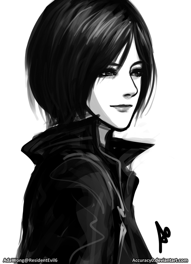 Ada Wong Resident Evil 6 Portrait by Accuracy0