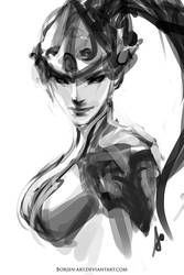 Widowmaker by borjen-art