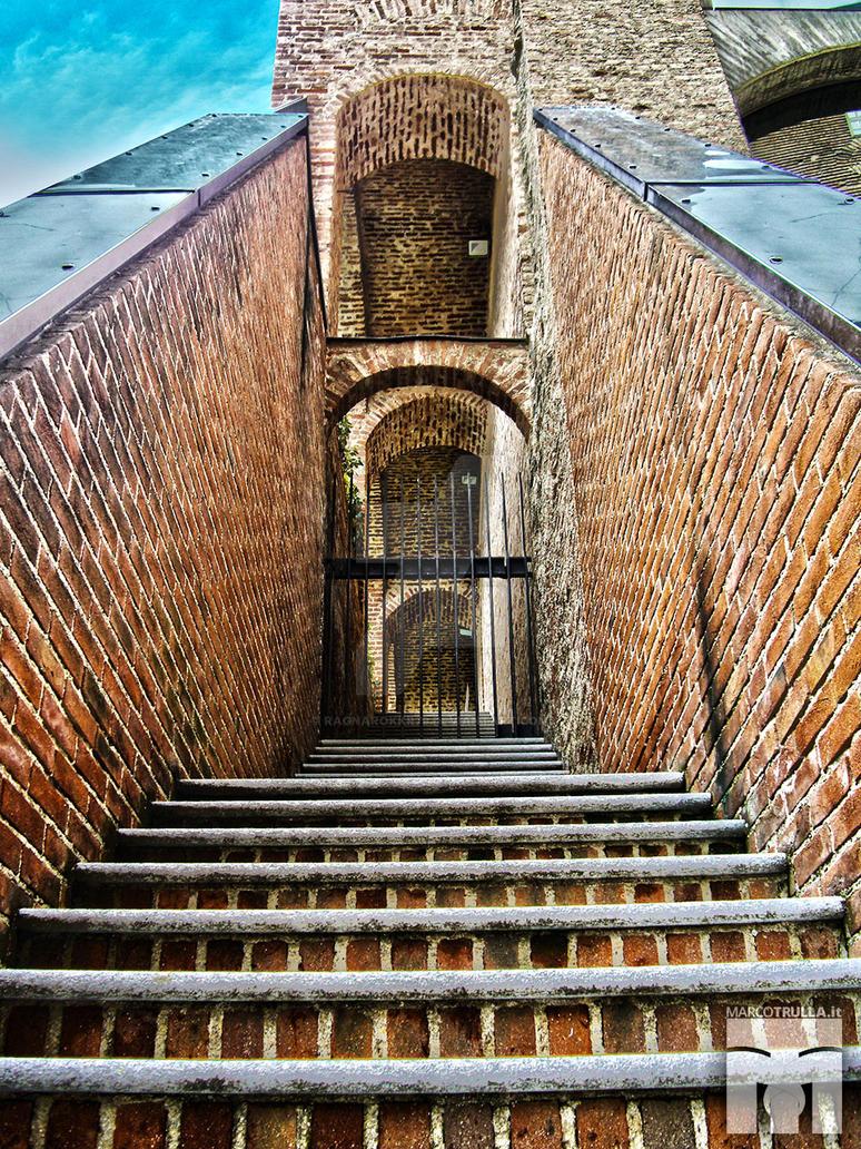 Castle of Rivoli Museum's stairway | Rivoli by Ragnarokkr79