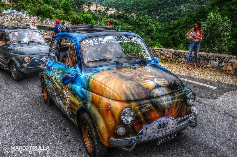 Raduno Fiat 500 - 2008 No. 98   Garlenda by Ragnarokkr79