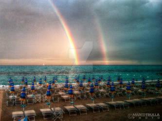 Sunset Rainbow   Loano