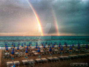 Sunset Rainbow | Loano