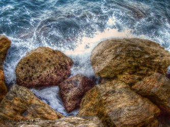 Rocks and  Splashes No. 1