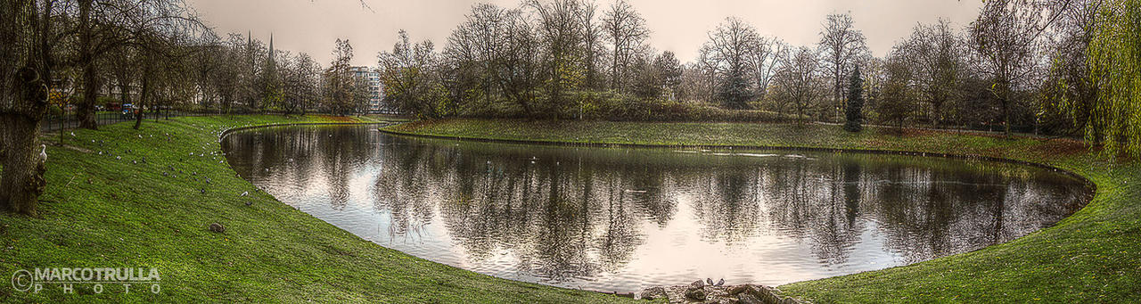 Winter Lake - Stadspark | Antwerp