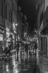 Night Life Under The Rain
