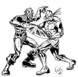 xiuhcoatl vs marvel zombies detail