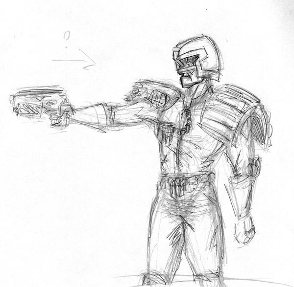 Dredd 2 by Methiston
