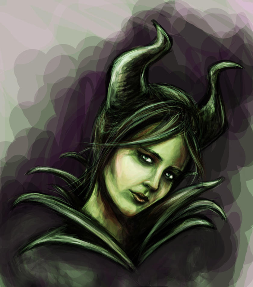 Eva Green  as Maleficent by Methiston