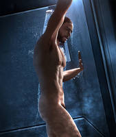Hot Shower - Gawking Series by Midnight-Blackened