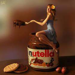 love Nutella by Neskvik