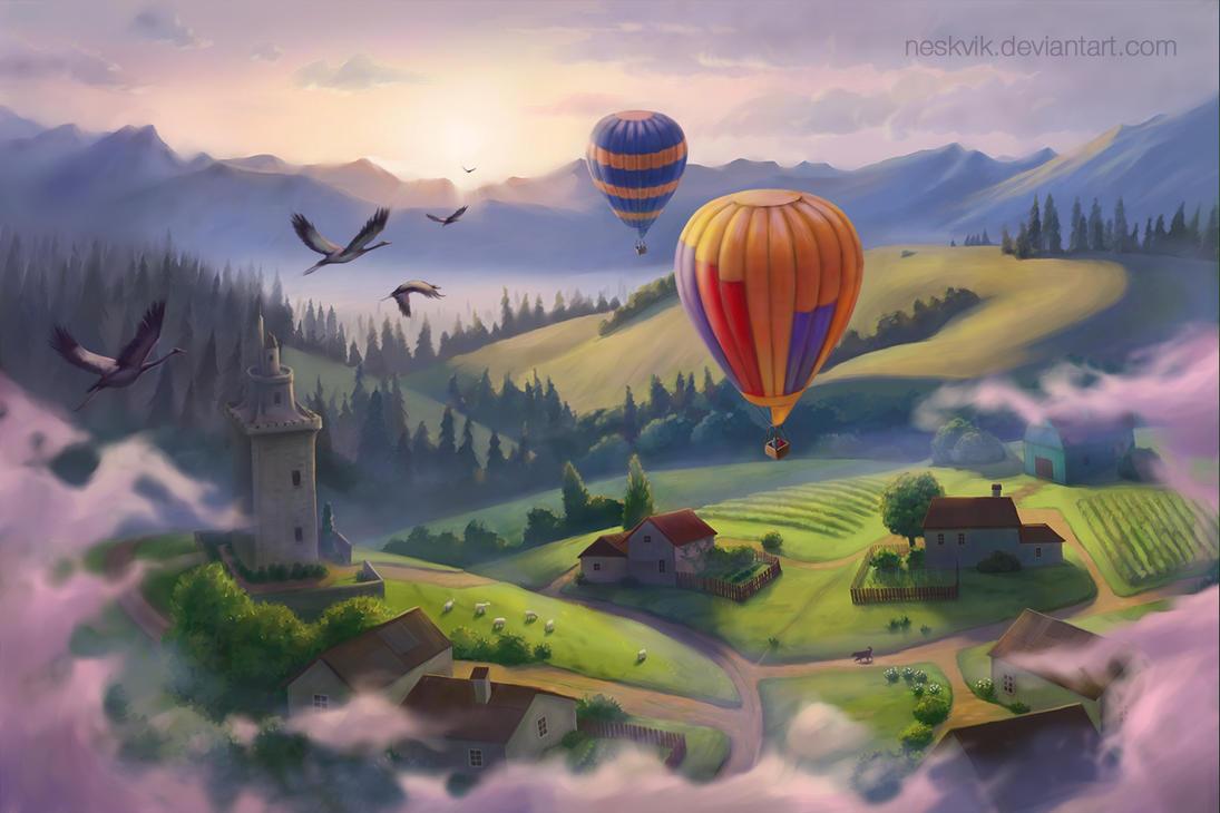 Travel to the sun by Neskvik