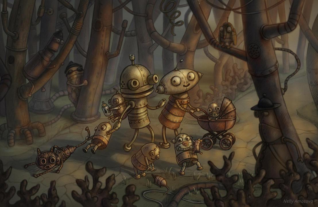 ''New Adventures Ahead!'' By Neskvik On