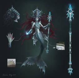 Arctic Mermaid Concept by Neskvik