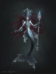 Arctic Mermaid by Neskvik